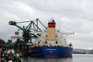 Bulk Cargo Terminal Bakar – 'Tianshenghai', the second capesize vessel in Bakar bay