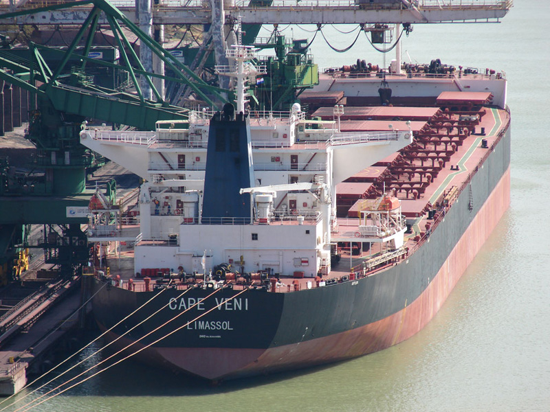 Croatia: Terminal in Bakar Bay received ore carrier 'Cape Veni'